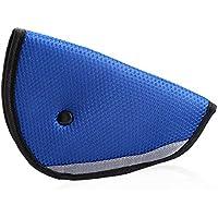 9 MOON Sicuro Fit Ispessimento Car Cintura di sicurezza Regolare dispositivo di sicurezza del bambino Bambino Cintura Protettore della cintura di sicurezza posizionatore (blu)
