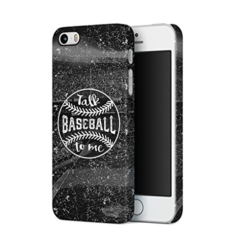 Baseball Talk To Me Apple iPhone 5 / iPhone 5S / iPhone SE SnapOn Hard Plastic Phone Protective Fall Handyhülle Case Cover Iphone 5 Fall-hockey