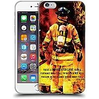 coque iphone 6 silicone pompier