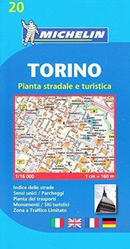 Plan Michelin Turin [Pdf/ePub] eBook