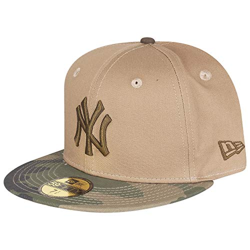 New Era New York Yankees Camo Essential MLB Cap 59fifty 5950 Fitted Limited Edition -
