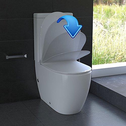 Stand WC eckig