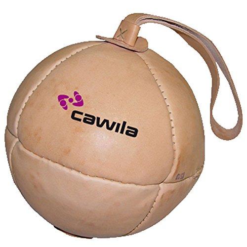 Preisvergleich Produktbild Cawila Schleuderball Leder, Beige, 1.0 Kg, 00130920