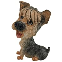 The Great Gadget Emporium Perfect present gift. Yorkie Figurine with a Personalisation Tag. Looks nice in any room