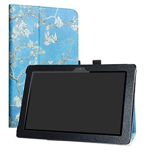 Energy Blossom (LiuShan Energy Sistem Pro 3 hülle, Folding PU Leder Tasche Hülle Case mit Ständer für 10.1
