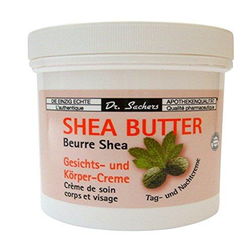 3 Dosen Tiegel Shea Butter Creme von Dr. Sachers -