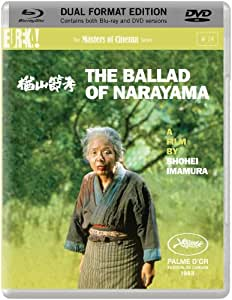 The Ballad of Narayama (1983) (Masters of Cinema) [Dual Format Blu-ray & DVD]