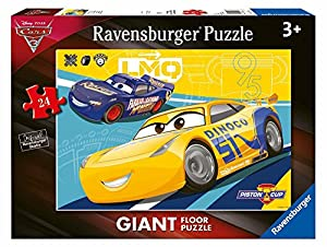 Ravensburger- Puzzle Suelo Giant 24 Piezas, Cars 3 (5518)