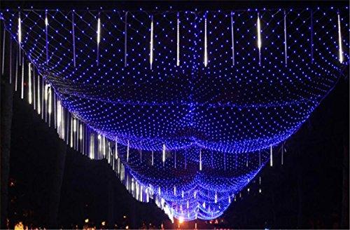 LUCKY CLOVER-AFeenhafte Netz-Lichter im Freien Innen2600 LED 10m * 8m Kaltlichtquelle Weihnachten Dekor (kann angepasst werden)