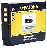 Bundlestar Akku für Nikon EN-EL12 (neueste Generation 100% kompatibel!) zu Nikon CoolPix A900 S9900 S9700 S9600 S9500 S9400 S9100 S8200 S8100 S8000 P340 P330 P310 P300 S31 S800c S6150 S6200 S6300 S70 S710 S640 S630 S620 S610 S1100pj S1200pj AW100 AW110 AW120 AW130 usw.