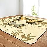 Teppiche Schmetterling Muster Teppich Wohnzimmer Non Slip Teppich Schlafzimmer Restaurant Bodenmatte (Farbe : 10, größe : 121.9 * 182.9cm)