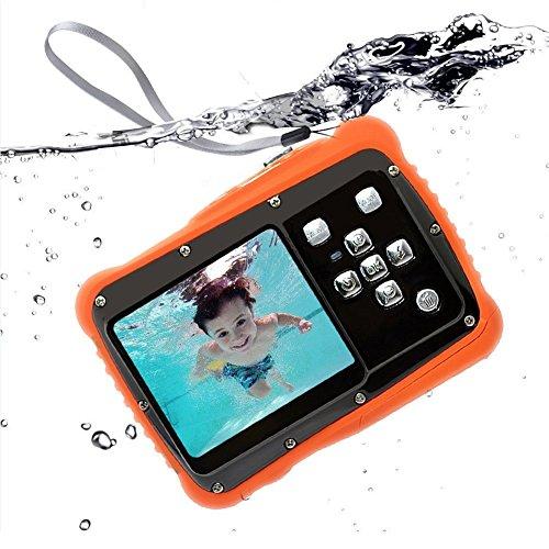 """Kinder Digitalkamera Unterwasser Sport Minikamera 2"""" TFT LCD Bildschirm Digitalkamera, 3M Wasserdicht Staubdicht and 8 Megapixel"""