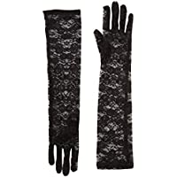 Seven 'Til Midnight Lace Elbow Gloves