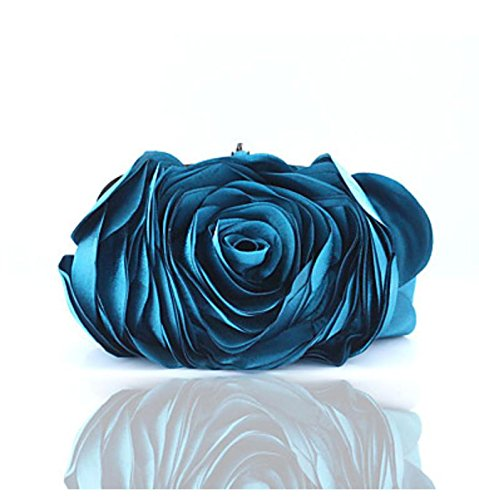 WZW Donna Poliestere Formale / Casual / Serata/evento / Matrimonio / Ufficio e lavoro / Shopping Borsa da sera . beige blue