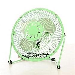 Kaxima 360-degree Rotating 6-inch 4-leaf Usb Aluminum Fan Mini Fan
