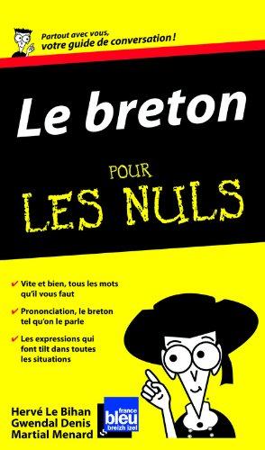 Le Breton Guide de conversation Pour les nuls par Gwendal DENIS