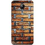 Babula Designer Back Case Cover for Lenovo C2 (Old Age Classic Style Bricks Pattern Stone)