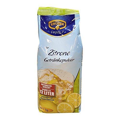 Krüger Zitrone Getränkepulver automatengeeignet 1kg