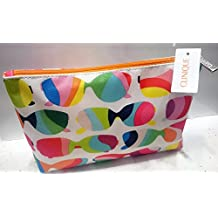 CLINIQUE 2 x SUNGLASSES Theme Pattern Cosmetics / Makeup Bag
