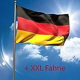6,20 Mtr. Fahnenmast + XXL Deutschlandflagge Flaggenmast Fahnenstange Flagge