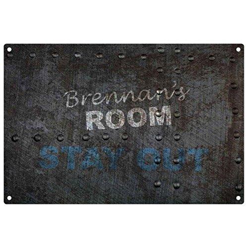 brennan-cameretta-personalizzabile-fuori-targa-in-metallo
