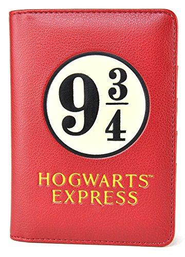 Harry Potter Travel Pass Holder Platform 9 3/4 Half Moon Boxes Pouches
