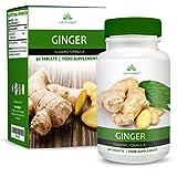 Extracto de Jengibre 12000 mg - Extracto de Alta Concentración 20:1 - Para Hombres y Mujeres - Apto Para Vegetarianos - 90 Pastillas (Para 3 Meses)