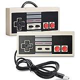 iNNEXT 2 x USB NES Controller Gamepad,Super Nintendo Retro NES PC-Controller Spiel Joypad f�r Windows-PC Mac Bild