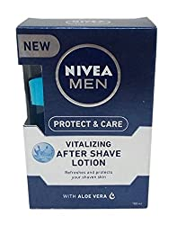Nivea Men Vitalizing After Shave Lotion - Protect & Care, 100ml Carton