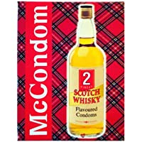 McCONDOM PACK OF 2 WHISKY FLAVOURED SCOTTISH CONDOMS preisvergleich bei billige-tabletten.eu