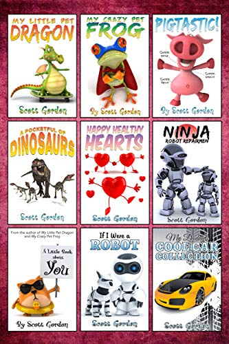 Mega Collection #1: Nine Awesome Bedtime Stories for ...