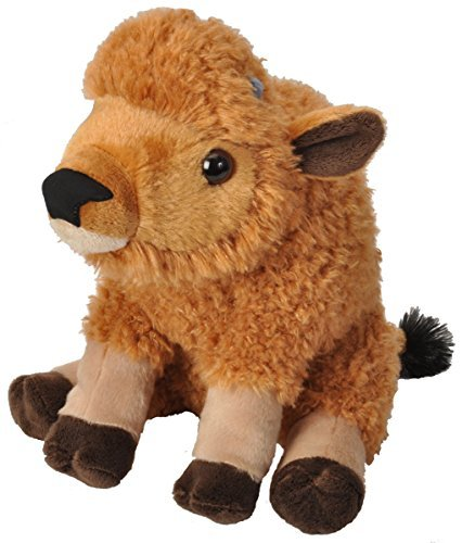 Wild Republic Cuddlekins Bison Calf Plush by Wild Republic