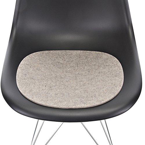 Hey-Sign Sitzaufl Eames Plastic Sidechair - V, Hellmeliert