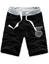 Malloom® Mode Masculine De Coton Short Pants Gymnase Pantalons De Sport De Jogging DéContracté
