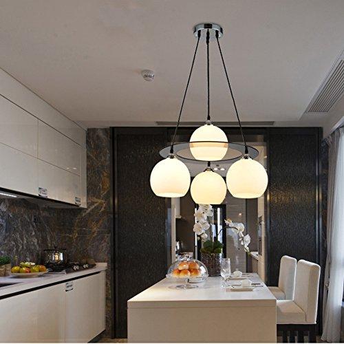 Contemporaneo LED Bicchiere Luci Pendenti Salotto / Camera da letto / Sala da pranzo / Sala studio/Ufficio Lampadario