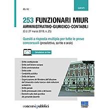 253 Funzionari MIUR amministrativo-giuridico-contabili - quesiti