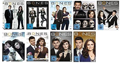 Bones: Die Knochenjägerin - Staffel/Season 1+2+3+4+5+6+7+8+9 * DVD Set
