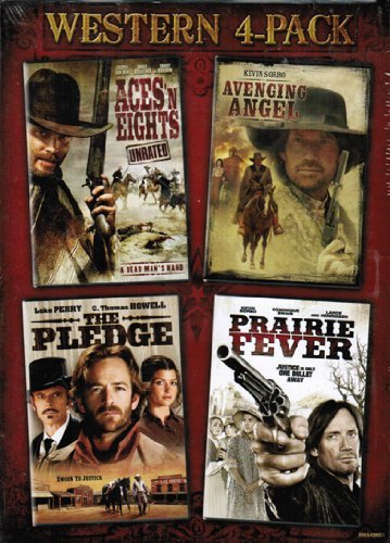 Bild von Western 4-Pack (Aces 'N Eights / Avenging Angel / The Pledge / Prairie Fever)