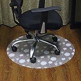 lililili Pvc-matte für teppiche,Büro-stuhl-matte für teppichböden,Stuhl schreibunterlage für teppich -B 100x120cm(39x47inch)