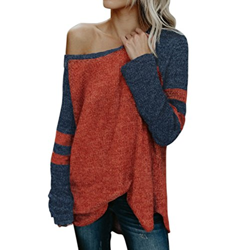 Sweatshirts for Women Off Shoulder Long Sleeve Allouli Knit Loose Sweater (Sleeveless V-neck Sweater Knit Black)