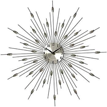 Pharmore Medium Wall Clock Starburst Amazon Co Uk
