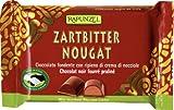 Rapunzel Zartbitter Nougat Schokolade HIH, 6er Pack (6 x 100 g) - Bio
