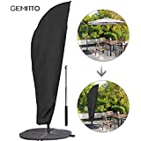 Parasol Cover–3M Large Parasol Cover Waterproof Outdoor Umbrella Cover Cantilever Banana Garden Protector with Storage Bag