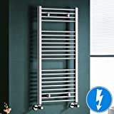 Maine Chrome Straight Electric Towel Rail Radiator - 10