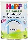 Hipp Biologique Lait 1 Combiotic pour nourrisson de 0-6 mois - 6 boîtes de 900 g