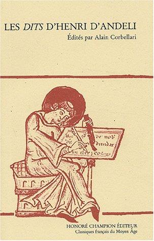 Les Dits d'Henri d'Andeli