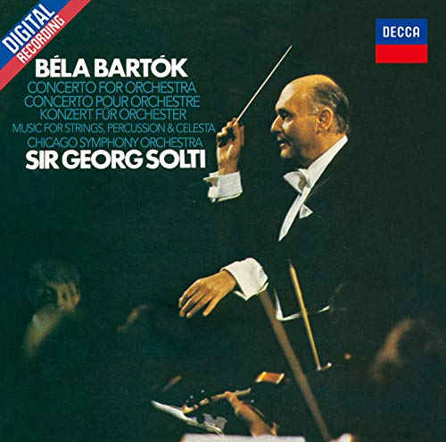 Bartok: Concerto For Orchestra, Music For Strings, Percussion &Celesta (Japanese Reissue)