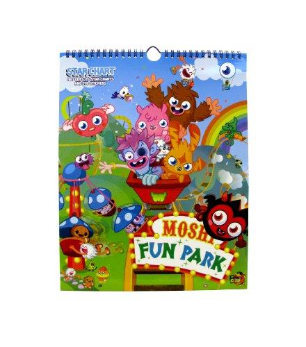 Moshi Monsters Fun Park Star Chart