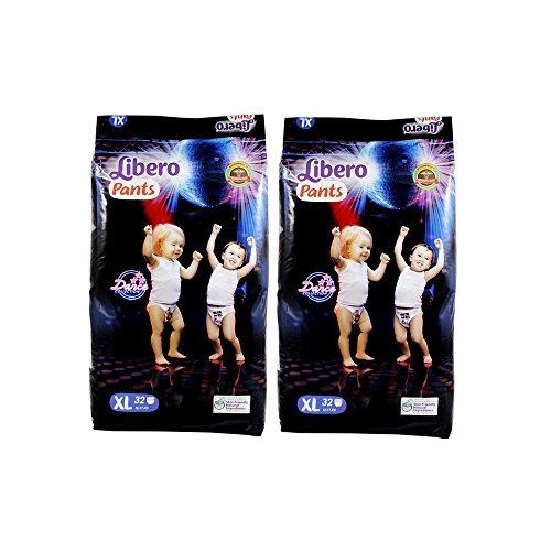 Libero Extra Large Size Diaper Pants (32 Counts) Set of 2