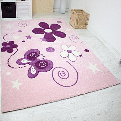 vimoda-infinity6566-tapis-moderne-enfants-contours-decoupes-a-la-main-etoiles-fleurs-papillons-certi